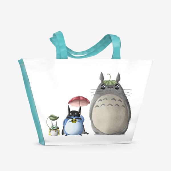 Пляжная сумка «Тоторо и Ко»