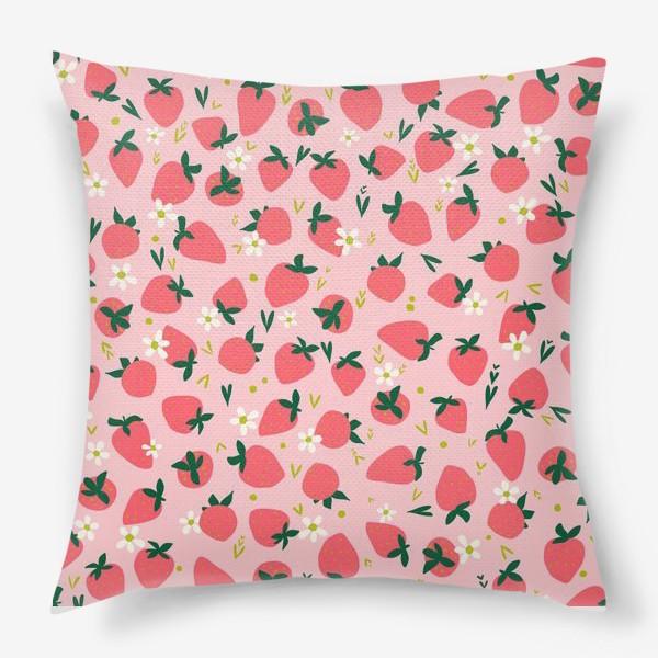 Подушка «клубника»