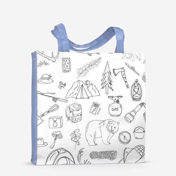 Сумка-шоппер «походная жизнь, туризм»