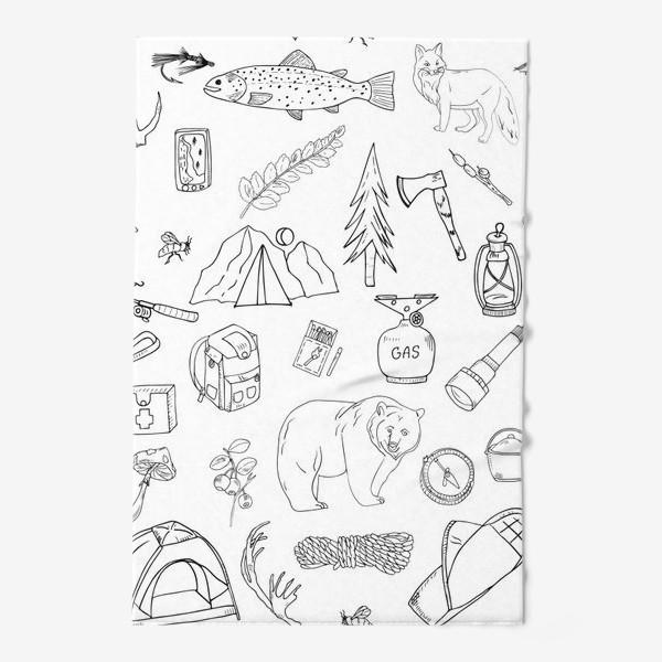 Полотенце «походная жизнь, туризм»