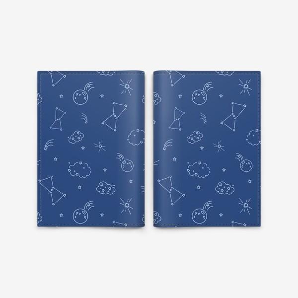 Обложка для паспорта «Ночное небо»