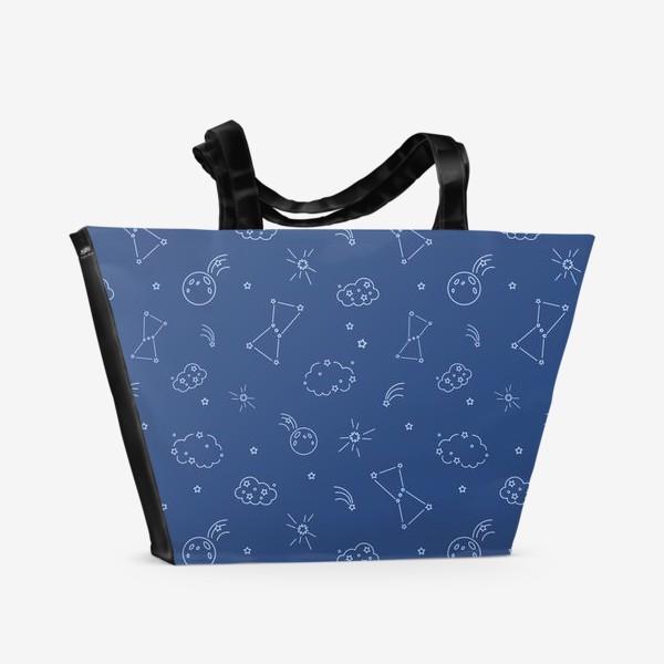 Пляжная сумка «Ночное небо»