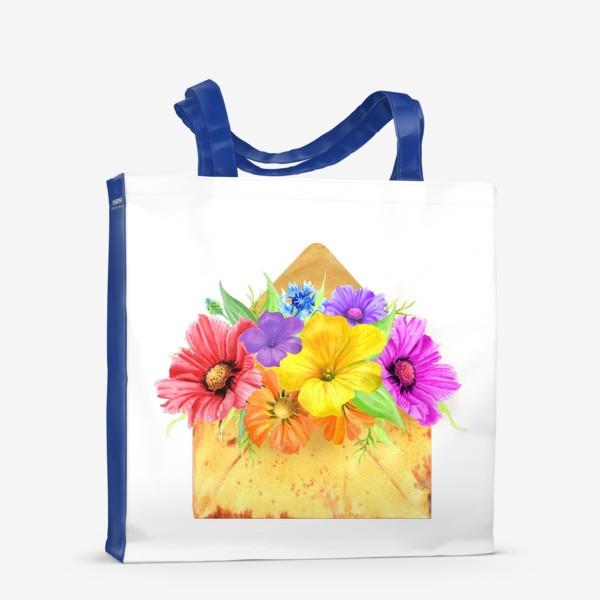 Сумка-шоппер «Письмо из лета»