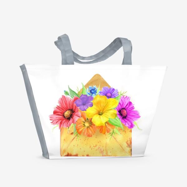Пляжная сумка «Письмо из лета»