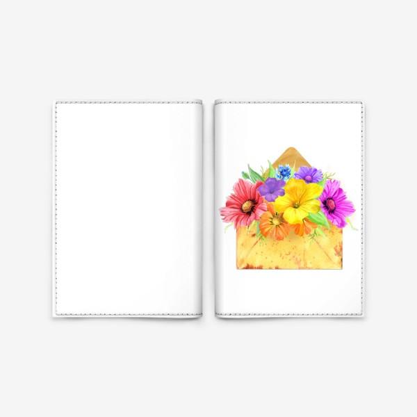 Обложка для паспорта «Письмо из лета»
