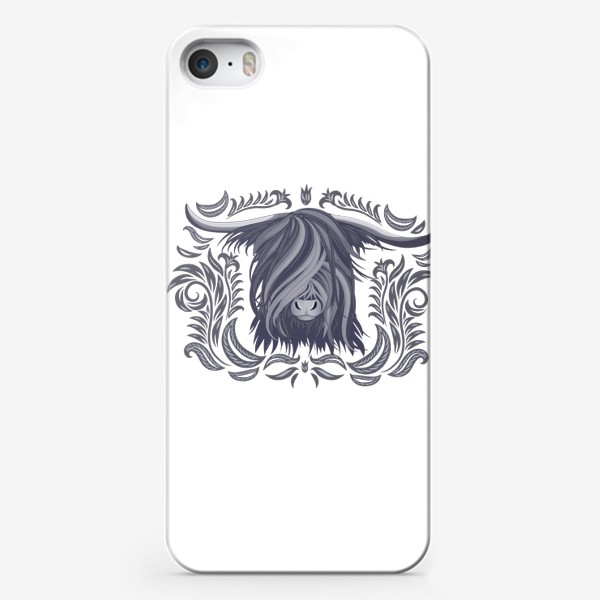 Чехол iPhone «Голова яка»