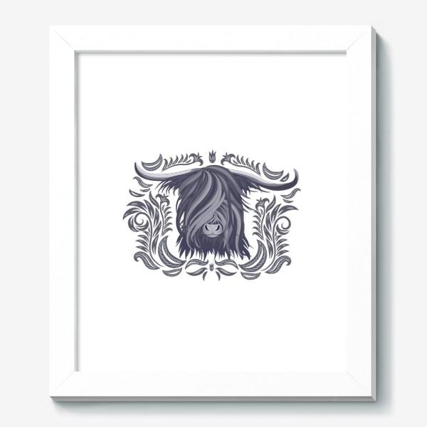 Картина «Голова яка»