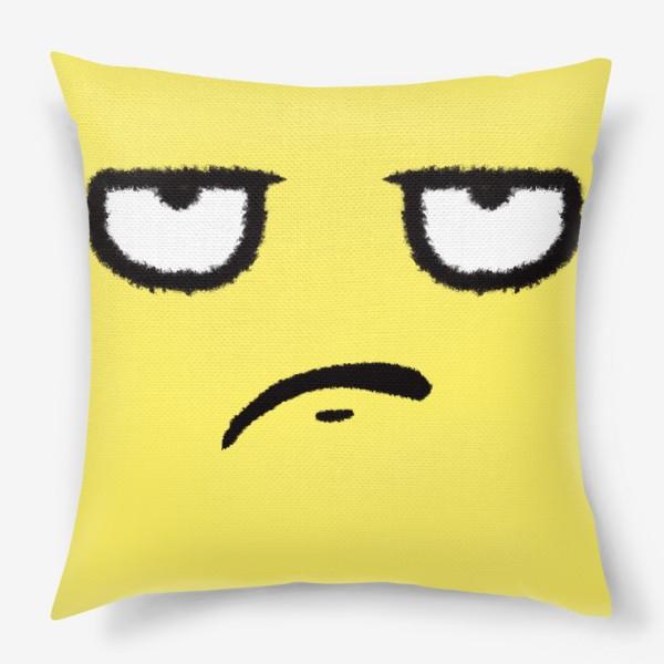 Подушка «Недоволен»