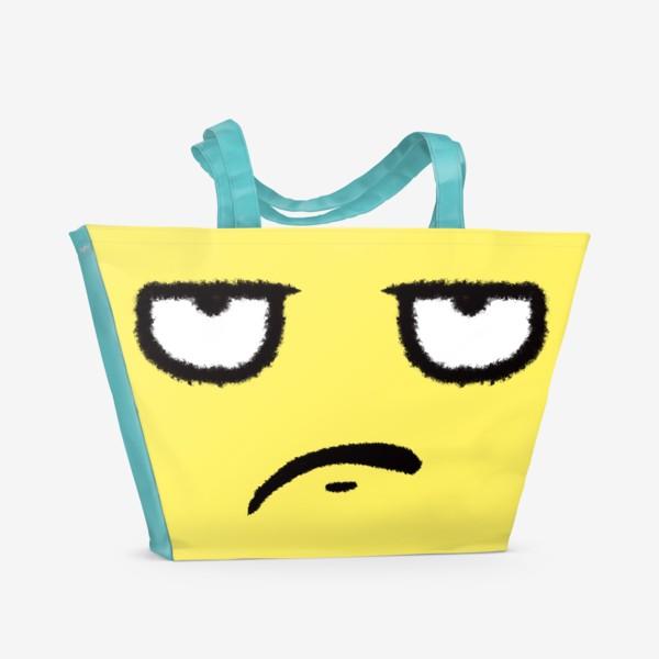 Пляжная сумка «Недоволен»