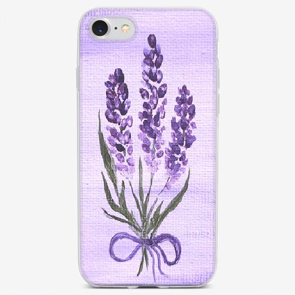 Чехол iPhone «Лавандовая весна.»