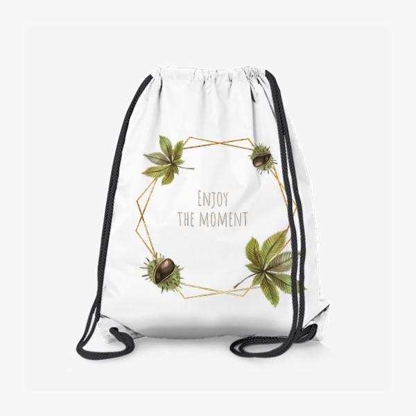 Рюкзак «Рамка каштан»