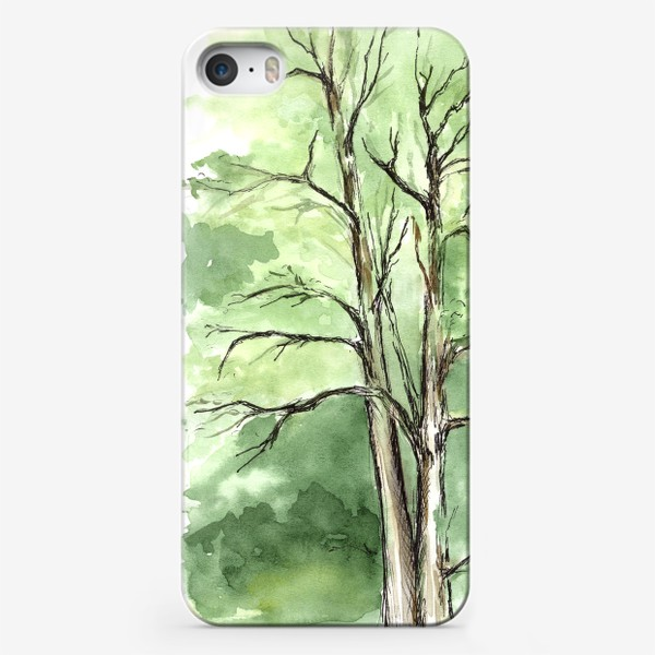 Чехол iPhone «Летнее дерево.»