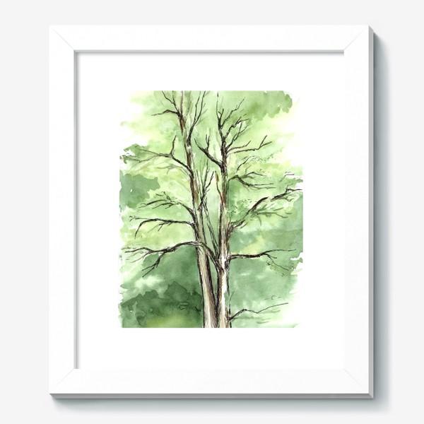 Картина «Летнее дерево.»
