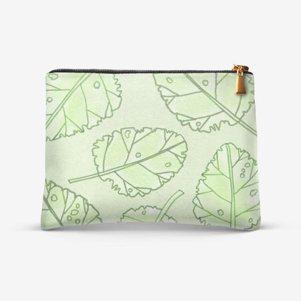 Косметичка «Весенняя листва»