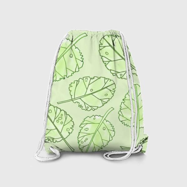 Рюкзак «Весенняя листва»