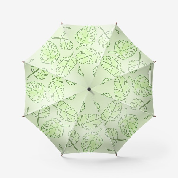 Зонт «Весенняя листва»