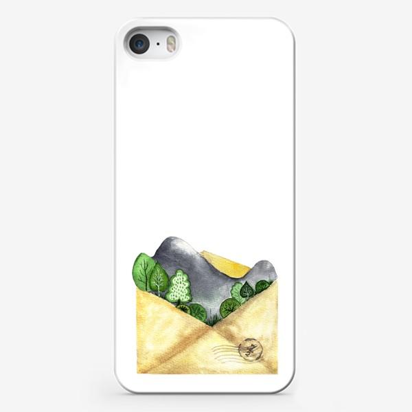 Чехол iPhone «Горы в конверте»