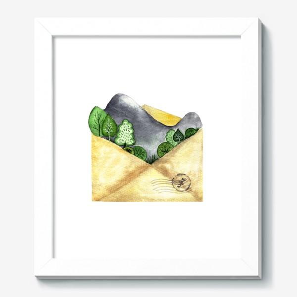 Картина «Горы в конверте»