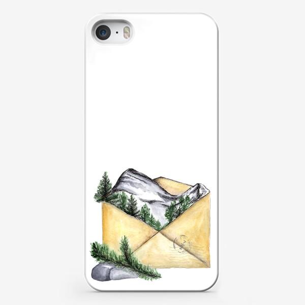 Чехол iPhone «Горы. Красная поляна. Сочи.»