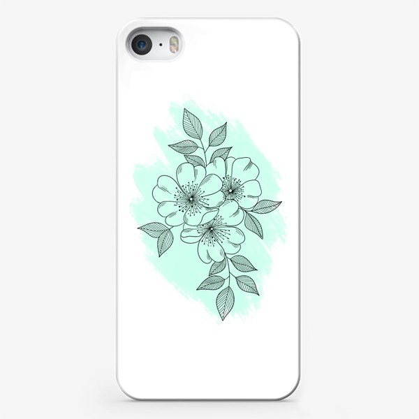 Чехол iPhone «Цветущая яблоня»