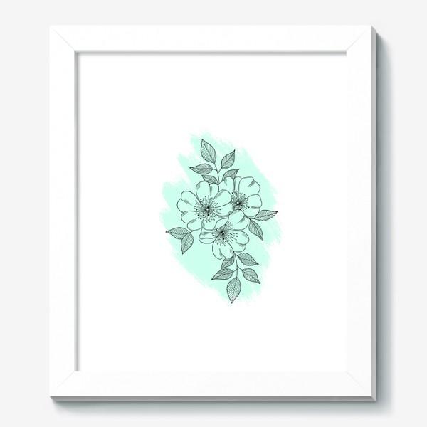 Картина «Цветущая яблоня»