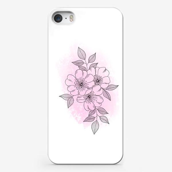Чехол iPhone «Цветущая яблоня 2»
