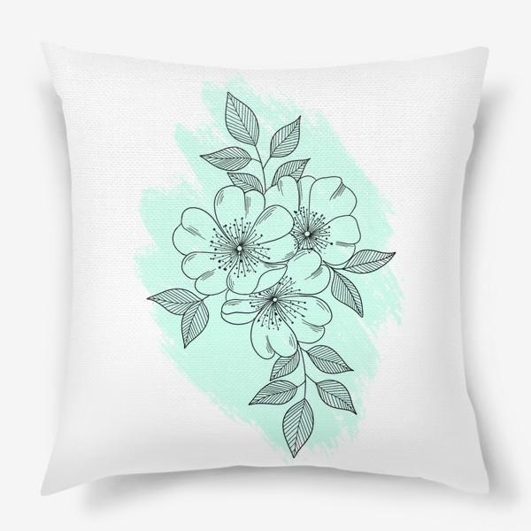 Подушка «Цветущая яблоня»