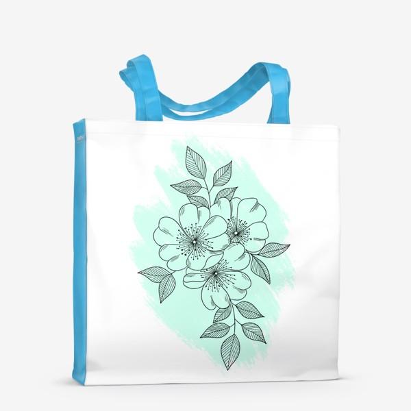 Сумка-шоппер «Цветущая яблоня»
