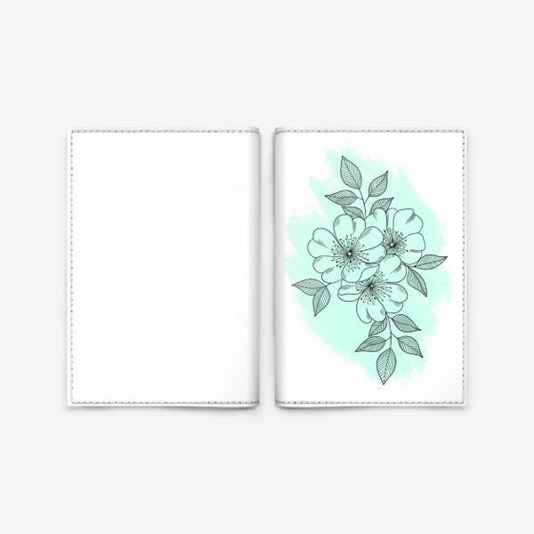 Обложка для паспорта «Цветущая яблоня»