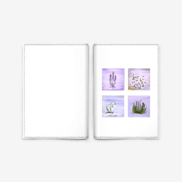 Обложка для паспорта «Лавандовая весна.»