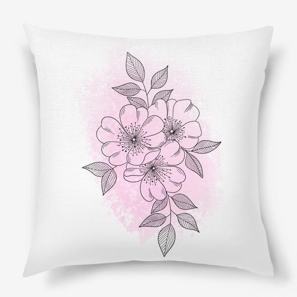 Подушка «Цветущая яблоня 2»