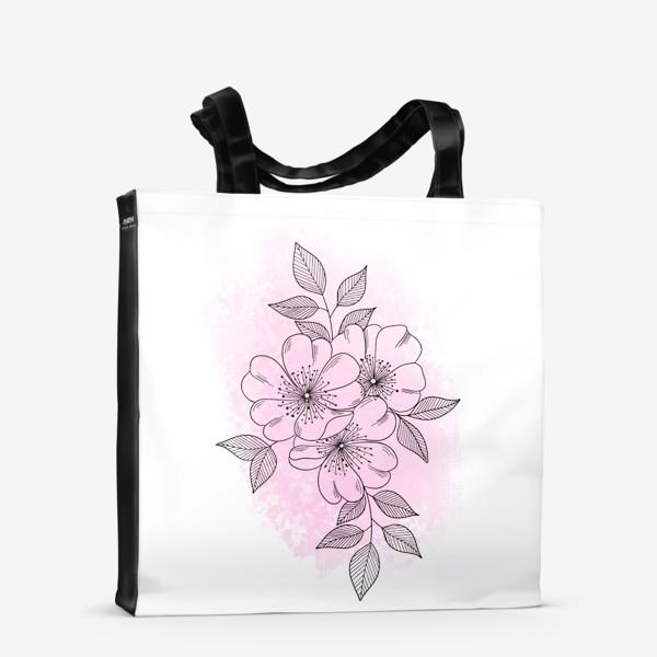 Сумка-шоппер «Цветущая яблоня 2»