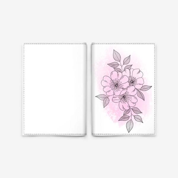 Обложка для паспорта «Цветущая яблоня 2»