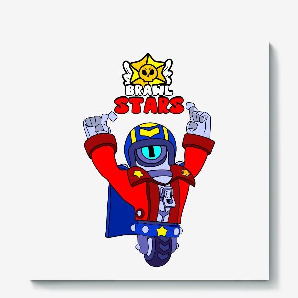 "Холст «Brawl Stars ""Сту""»"