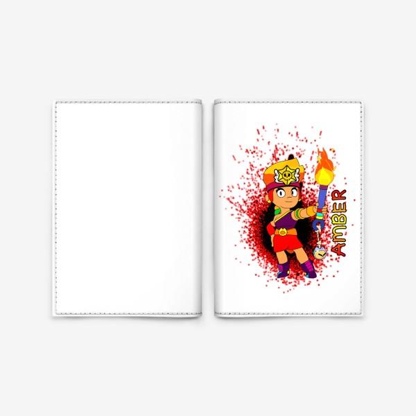 """Обложка для паспорта «Brawl Stars """"Амбер""""»"""