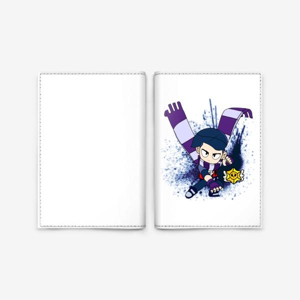 """Обложка для паспорта «Brawl Stars """"Эдгар""""»"""