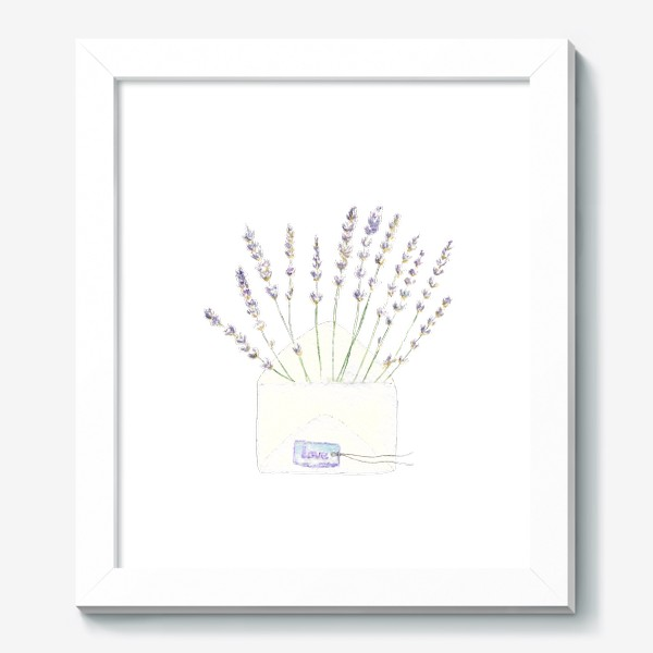 Картина «Лаванда в конверте. С любовью...»