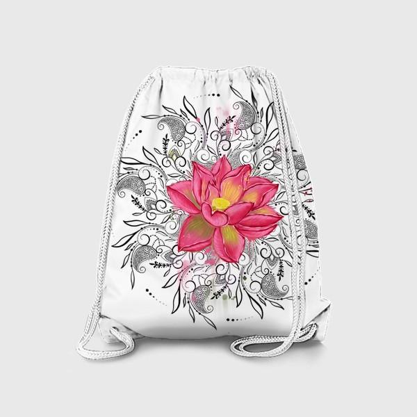 Рюкзак «Мандала и лотос»