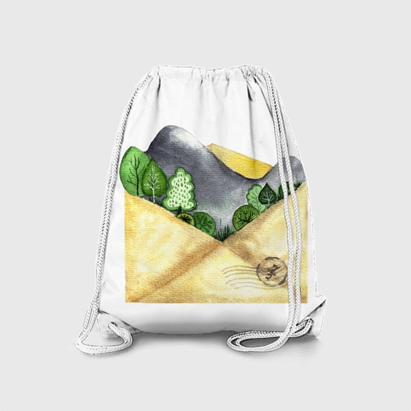 Рюкзак «Горы в конверте»