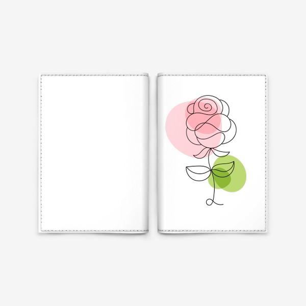 Обложка для паспорта «Roses»