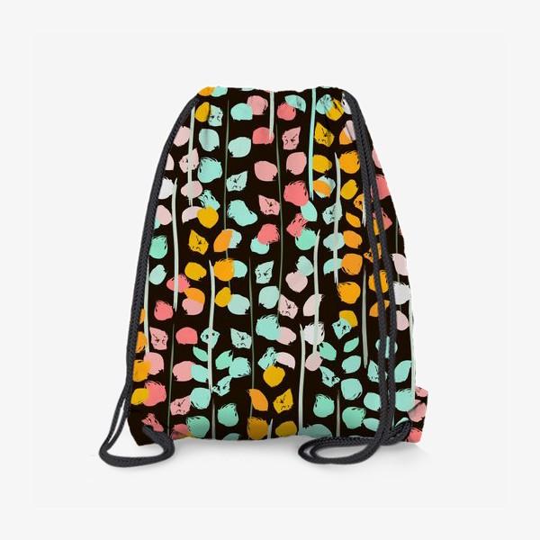 Рюкзак «веточки акварель»