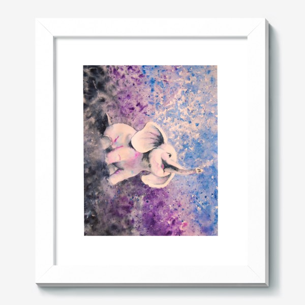 Картина «Песнь любви. Белый слон.»