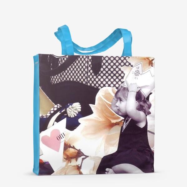 Сумка-шоппер «Коллаж Девочка»