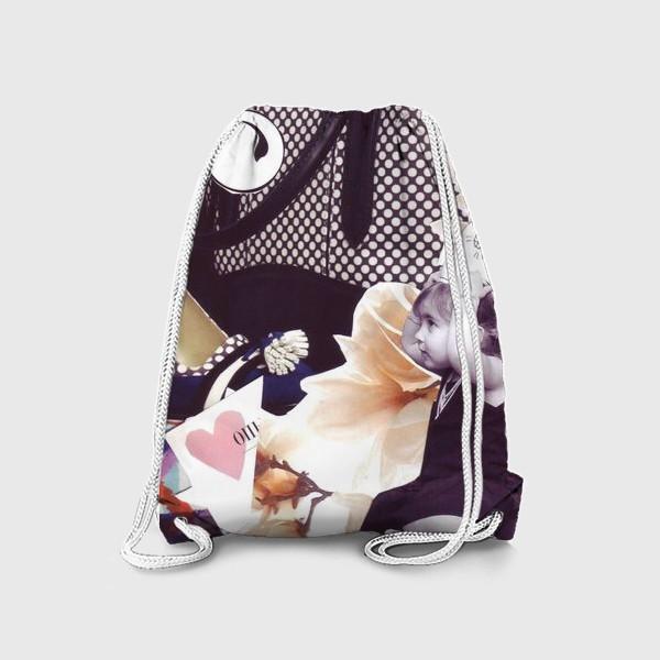 Рюкзак «Коллаж Девочка»