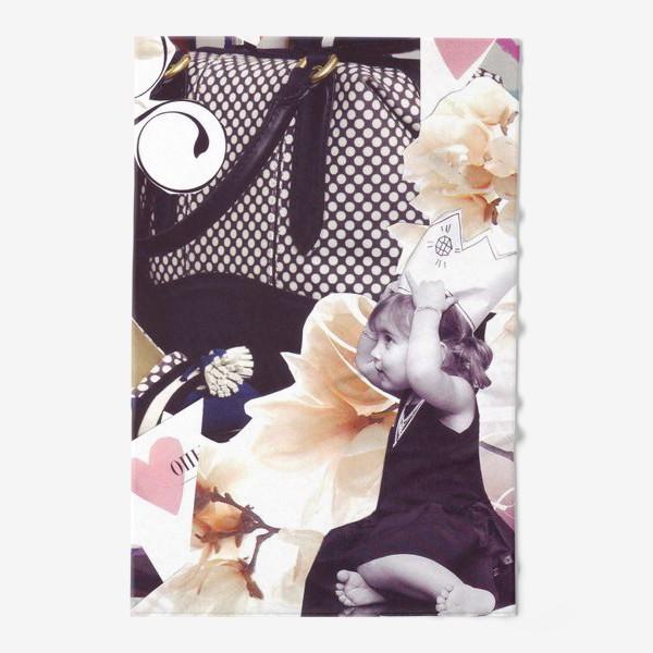 Полотенце «Коллаж Девочка»