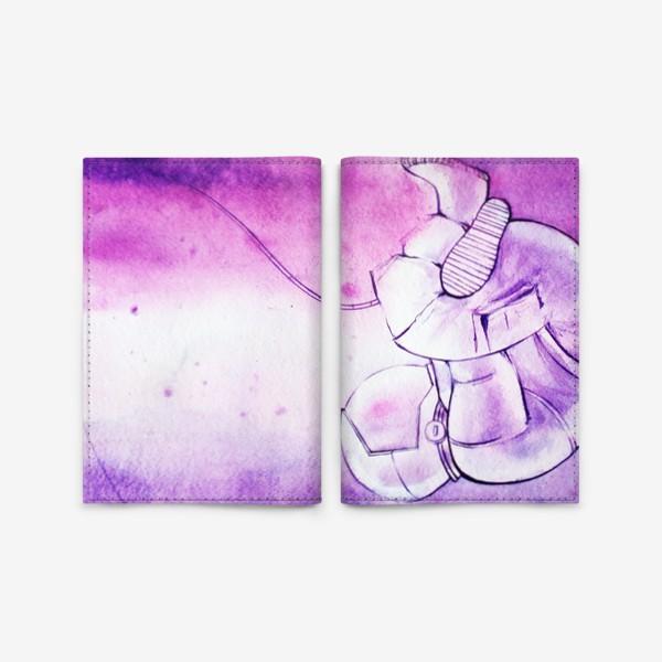 Обложка для паспорта «Глубокий космос»