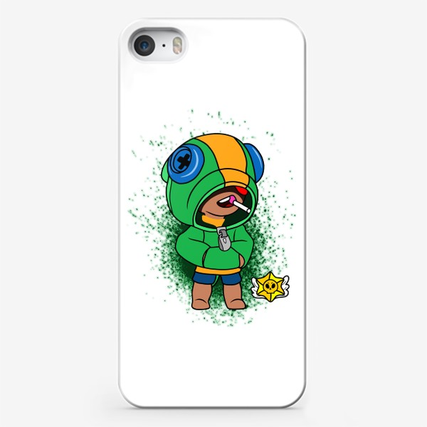 "Чехол iPhone «Brawl Stars ""Леон""»"