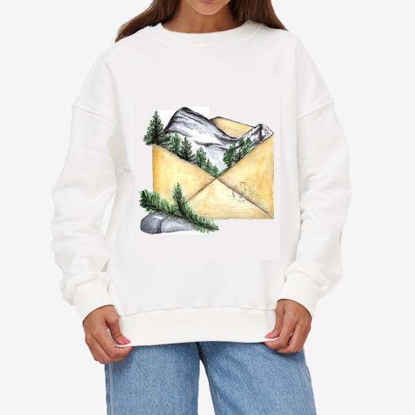 Свитшот «Горы. Красная поляна. Сочи.»