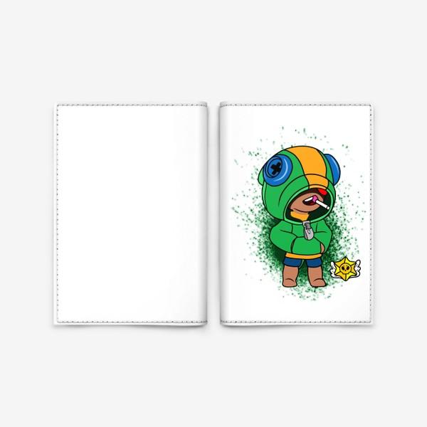 """Обложка для паспорта «Brawl Stars """"Леон""""»"""