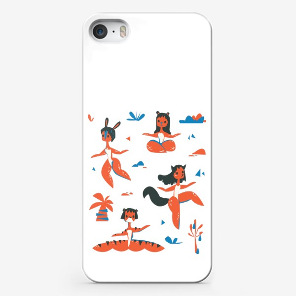 Чехол iPhone «женщины-звери»